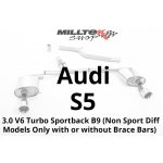 3.0 V6 Turbo Sportback B9 (Non Sport Diff Models Only with or without Brace Bars)